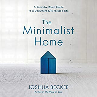 The Minimalist Home audiobook cover art