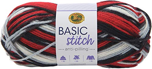 LION BRAND YARN COMPANY Yarn Basic Stitch, Buffalo Hill