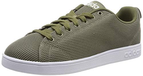 adidas Vs Advantage Cl, Scarpe da Tennis Uomo, Verde (Trace Cargo/Ftwr White/Raw Khaki Trace Cargo/Ftwr White/Raw Khaki), 49 EU