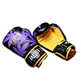 OLYSPM Guantes De Boxeo Boxing Gloves For Training Punching Sparring Muay Thai Kickboxing Gloves,4oz-14oz(Morado)