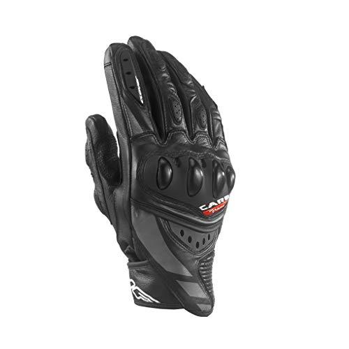 Clover rsc-3 Gant sport cuir courte, noir/noir, Taille M