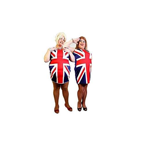 Union Jack Wear Mens Union Jack Spice Girls Fancy Dress XXL Union Jack