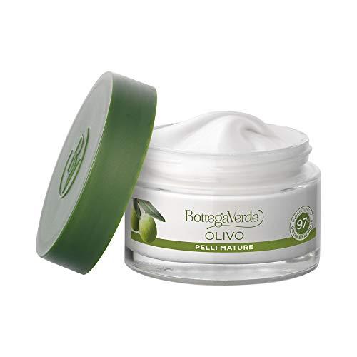 Bottega Verde crema viso OLIVO pelli mature, con olio d'Oliva di Tenuta Massaini (50 ml) - pelle...