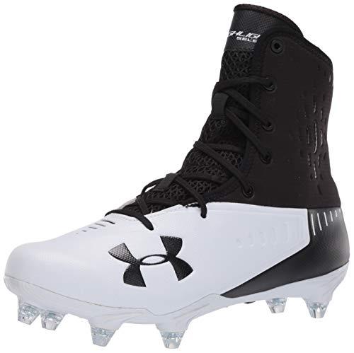 Under Armour Men's Highlight Select Football Shoe, Black (001)/White, 13 W US