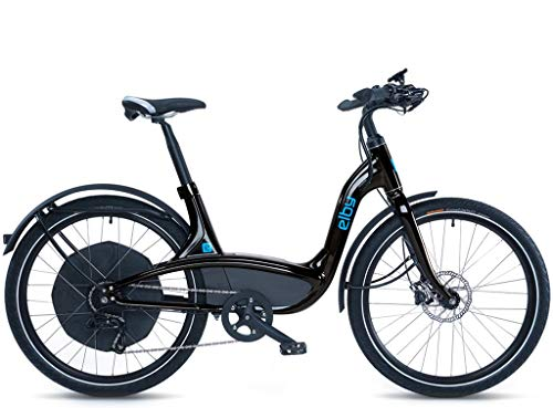 "Elby Bike 9 Speed Electric Bike, Black, 16.5""/One Size"