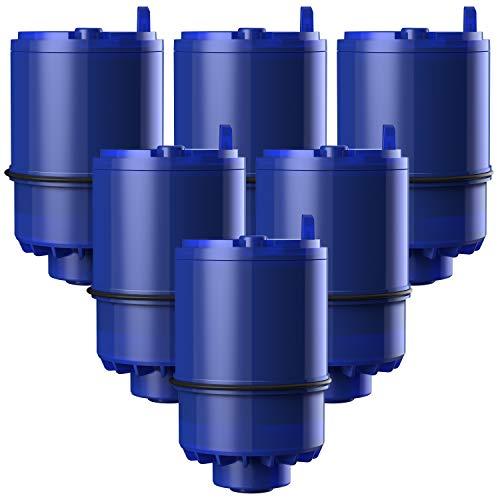 Waterdrop RF-9999 NSF Certified Water Filter, Replacement for Pur RF9999 Faucet Water Filter, Pur Faucet Model FM-2500V, Pur-0A1, FM-3700, PFM150W, PFM350V, PFM400H, PFM450S (Pack of 6)