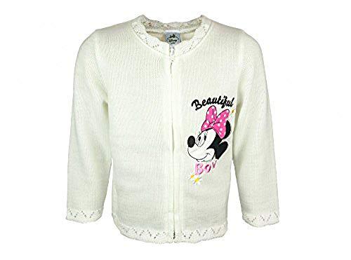 Kleines Kleid Minnie Mouse Strick-Jacke Größe 80