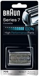 【並行輸入品】 ブラウン シリーズ7/プロソニック対応 網刃・内刃一体型カセット 70S (F/C70S-3に対する海外版)