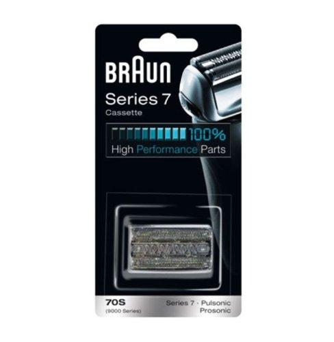Braun Replacement Foil & Cutter Cassette - 70S, Series 7, Pulsonic - 9000 Series Braun Cassette 70S