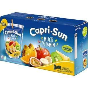 Capri Sun Multivitamin, 2er Pack 2 Packungen á 10 x 200ml (20 gesamt)
