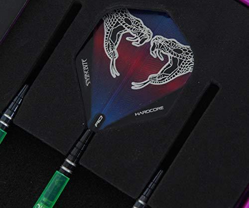 Red Dragon Peter Wright Snakebite Black Strike Softdarts - 3
