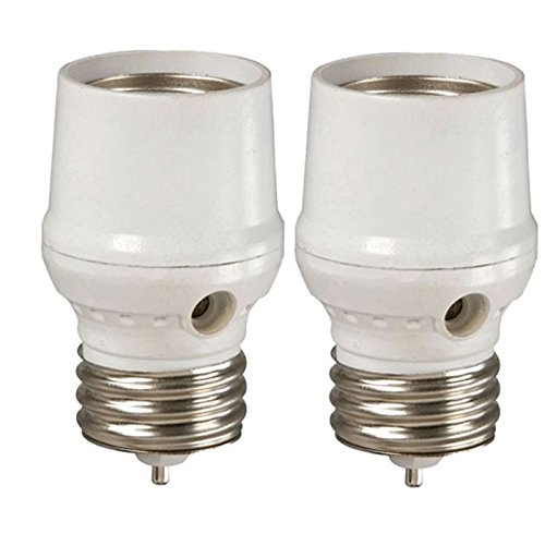 Westek SLC5BCW-4 Outdoor/Indoor Dusk to Dawn Light Control for CFL/LED Bulbs (2)