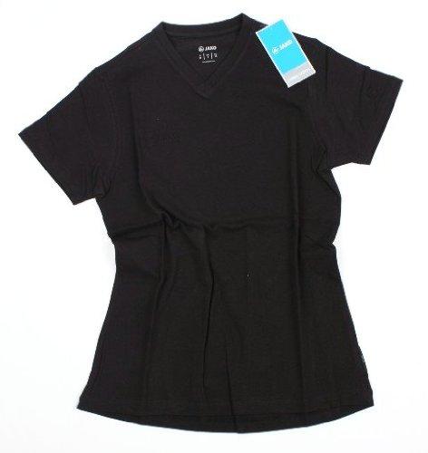 Jako g 34 N ° Art. 6142 T-Shirt à Manches Courtes pour Sport Shirt Chemise Manches Courtes Noir Neuf