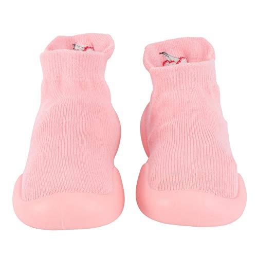 Happyyami Bebé Niño Niñas Niños Pequeños Calcetines Zapatos Primer Andador Suela de...