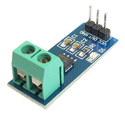 SODIAL(R) ACS712 Detector modulo de sensor de corriente 20 amperios Alcance del amperaje