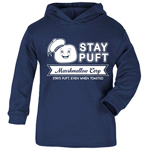 Cloud City 7 Ghostbusters Stay Puft Marshmallow Corp Baby and Kids Hooded Sweatshirt