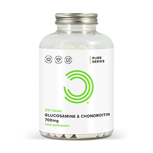 BULK POWDERS Glucosamin und Chondroitin Tabletten, 700 mg, 270 Tabletten