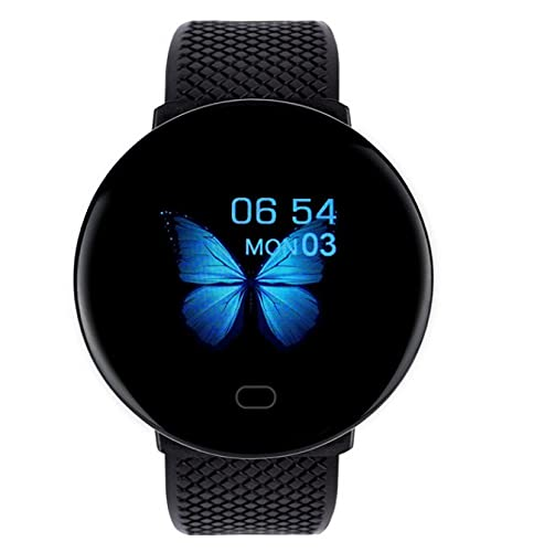 Reloj Inteligente Bluetooth para Hombres, Reloj Inteligente con Presión Arterial, Reloj Inteligente para Mujeres, Rastreador Deportivo, Reloj Inteligente