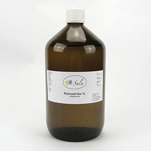 Sala Rizinusöl kaltgepresst bio 1000 ml 1 L