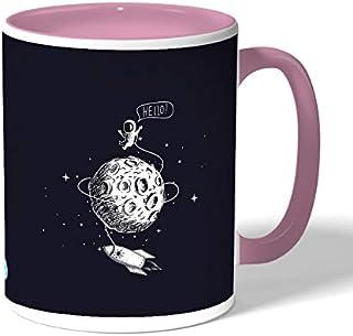 astronaut Coffee Mug by Decalac, Pink - 19070