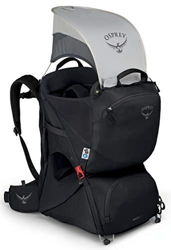 Osprey LT Child Carrier Mochila portabebés Senderismo Starry Black O/S, Unisex-Adult