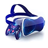 YHNBG Casque Réalité Virtuelle Lunettes VR 3D Casques Compatible avec iPhone...