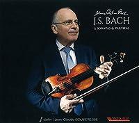 無伴奏ヴァイオリンのためのソナタトパルティータ 全曲 ジャン=クロード・ブーヴレス(2CD)