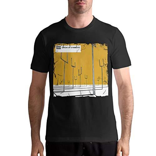 Muse Origin of Symmetry Mans Customization Sports Round Neck Short Sleeve T-Shirt M Black