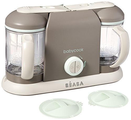 Beaba Babycook Pro2X Baby Food Processor and Steamer (Latte)