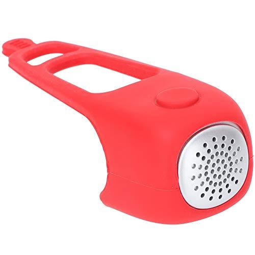 ROSEBEAR Manillar de Bicicleta de Montaña Alarma de Timbre Bocina Eléctrica para Bicicleta para Ciclismo (Rojo)