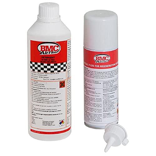 BMC Filtro de Aire–Kit de limpieza para detergente y spray de aceite WA 200–500