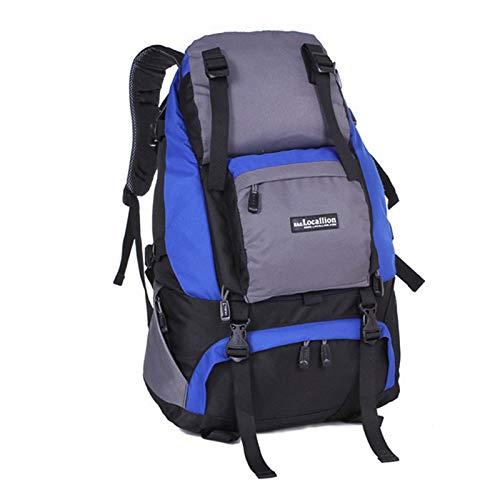 Hiking Backpack, Wear-Resistant Waterproof Mountaineering Bag, Outdoor Travel Canvas Bag, Suitable for Traveling, Camping, Traveling, Mountaineering,G
