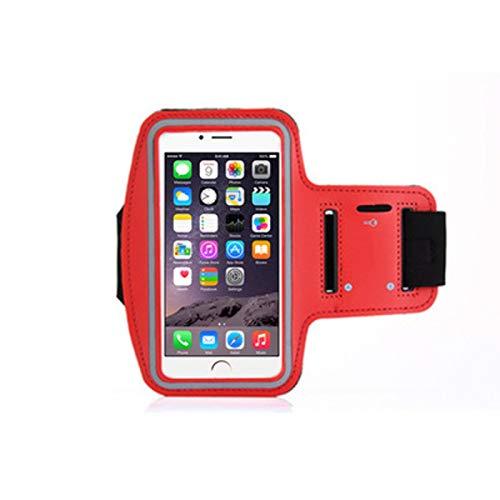 Bolsa impermeable para el brazo del teléfono móvil Bolsa para el brazo del teléfono deportivo Bolsa para la muñeca Funda para el brazo con banda para el brazo Compatible con iPhone X / 8/7/6 / Plus