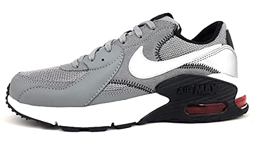 Nike Air Max Excee Sneaker da uomo, (grigio, bianco, nero, rosso), 46 EU
