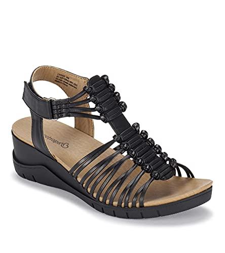 BareTraps Carrie Women's Sandals & Flip Flops Black Size 9 M (BT28135)