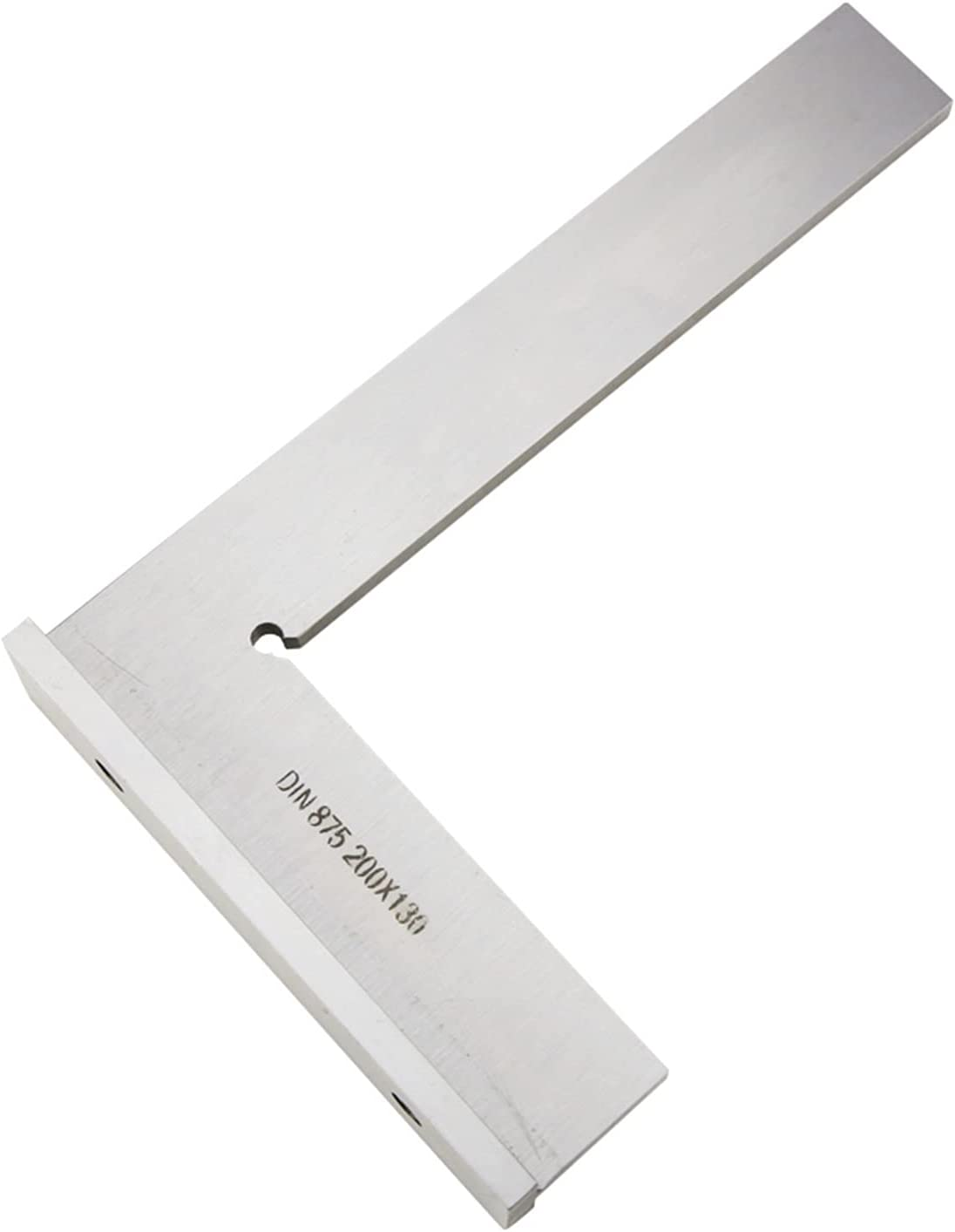 Tool 200x130mm Flat Edge Square Angle Ruler Finally popular brand Degree Today's only With 90