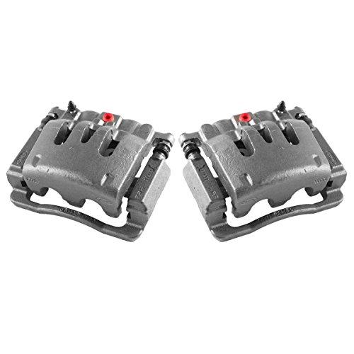Callahan CCK02472 [2] REAR Premium Grade OE Semi-Loaded Caliper Assembly Pair Set