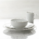 Staccato 4-Piece Place Setting + Reviews | Crate and Barrel