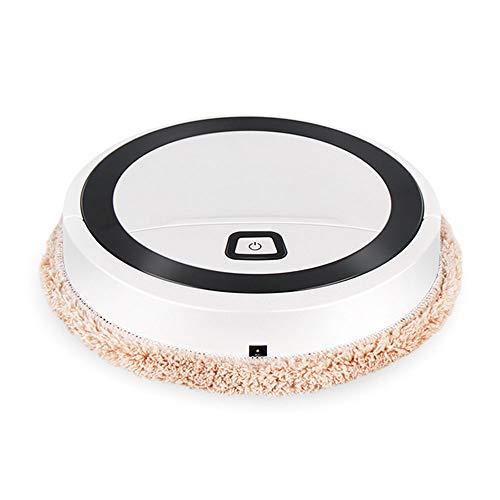 Blusea Tragbarer intelligenter Haushalts-Multifunktions-Mini-Bodenwischroboter Vollautomatische USB-Ladekehrmaschine