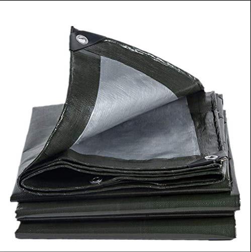 VOPTECH Sombrilla de Lona Resistente al Desgaste - Resistente al Agua Pesado Lonas - A Prueba de Polvo y Desgaste Rip Prueba Lona (Tamaño: 3mX4m)