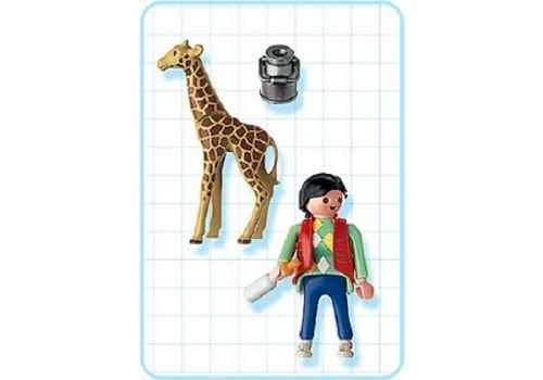 Playmobil Babygiraffe mit Pflegerin 3253 NEU/OVP
