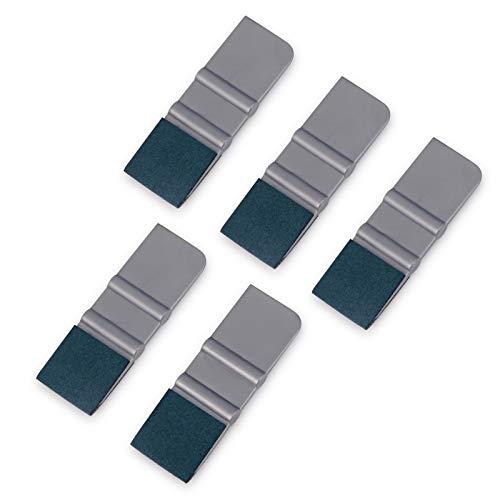 Winjun Vinyl Wraps Folien Mini Rakel Set mit Filzkante für Antofolie Tönungsfolie Folierungs Installation Werkzeug