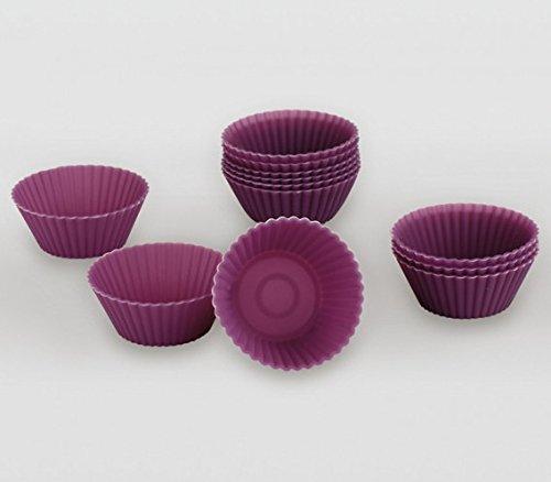 Lifestyle &apos Moules à Muffins en Silicone « Mini 12