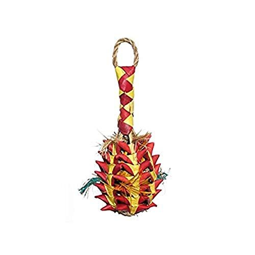 Rosewood Woven Wonders Foraging Pineapple Parrot Toy, Small