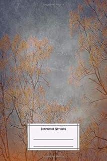 Composition Notebook: Landscapes Landscape 5 Vintage Landscapes Composition Notebobok Over 50 Sheets