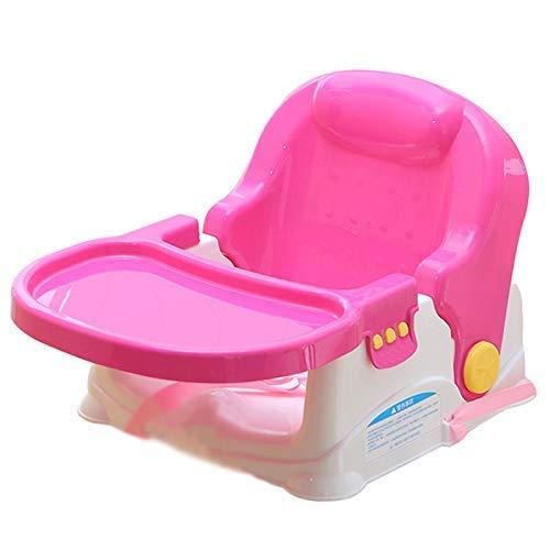 YLCJ Hoge stoelen Eettafelstoelen Multifunctionele draagbare kinderstoel (kleur: ROOD, Grootte: groot) Large Rood