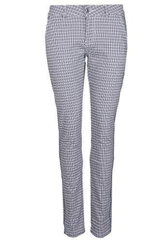 Blue Monkey Damen Hose Thea 10386 Glitzereffekt