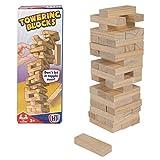 HTI Juguetes Tumbling Tower Blocks Mini Game   Juegos de viaje para niños Gran entretenimiento familiar adecuado para 3 años +