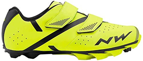 Northwave Spike 2 MTB Fahrrad Schuhe gelb/schwarz 2021: Größe: 44