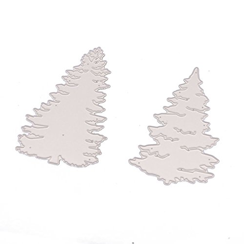 Cold Toy Weihnachtsbaum Stanzformen Schablone DIY Scrapbooking Präge Album Papierkarte